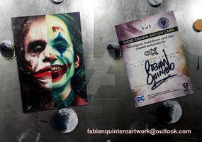 Joker ApSketchCard HeathLedger, JoaquinPhoenix