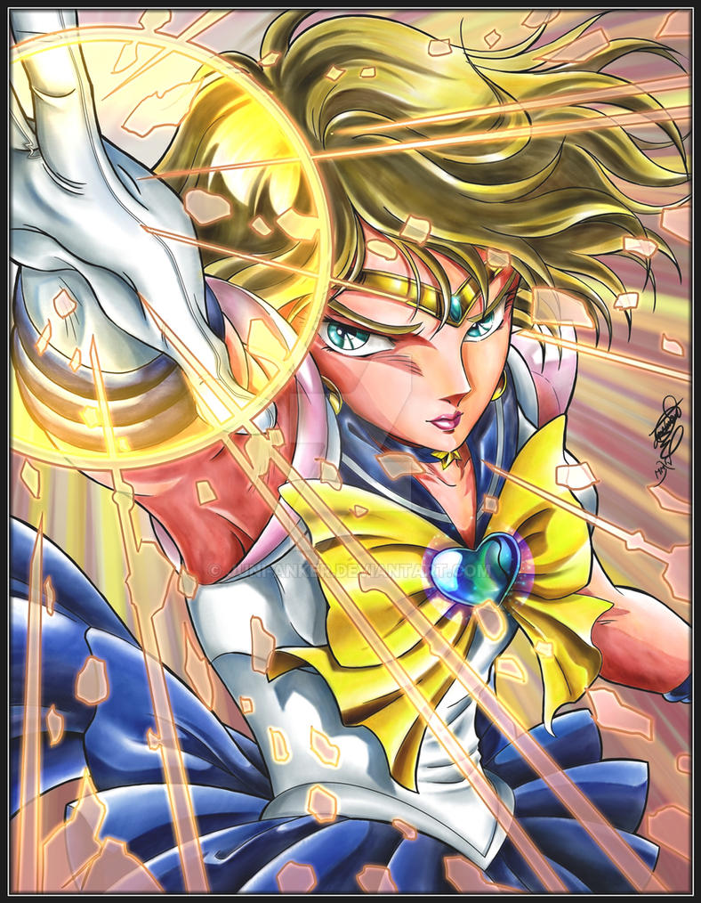 Sailor Uranus by Juni-Anker