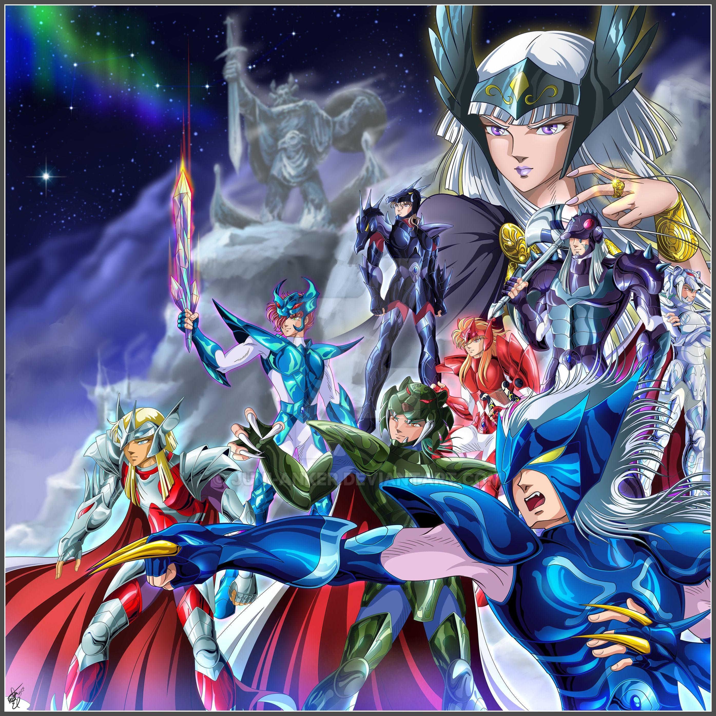 Saint Seiya Asgard By Juni-Anker On DeviantArt