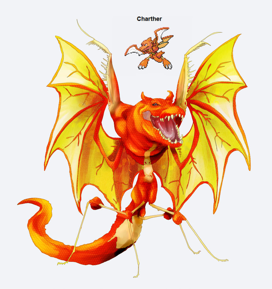PokeFusion - Charther by Pseudo-Strawberry