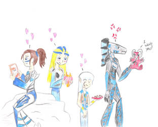A Bionicle Valentines by Saronicle