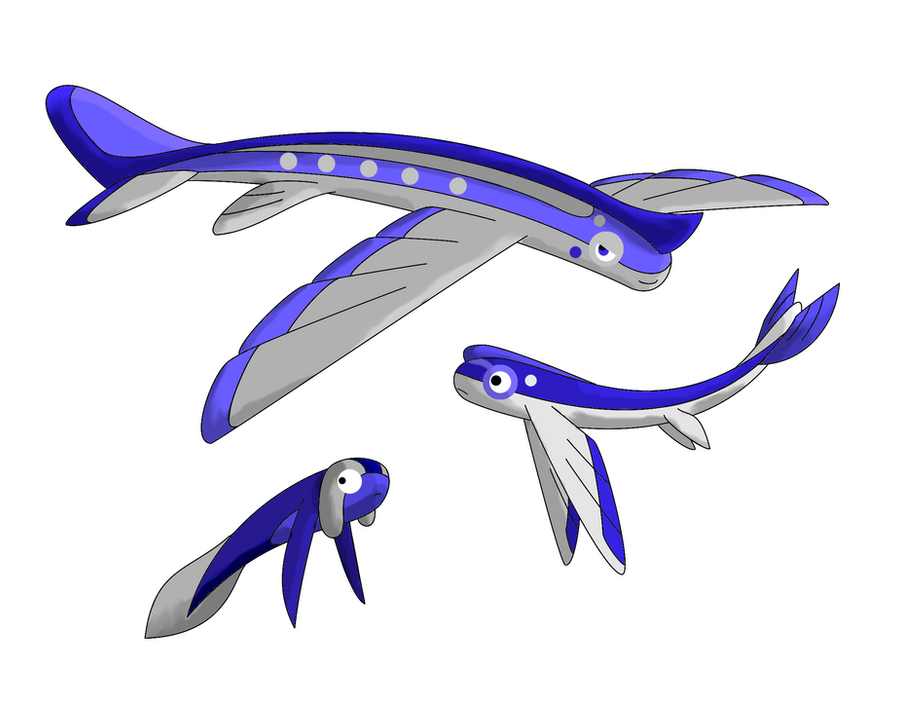 The flying fish by saronicle on deviantart for The flying fish