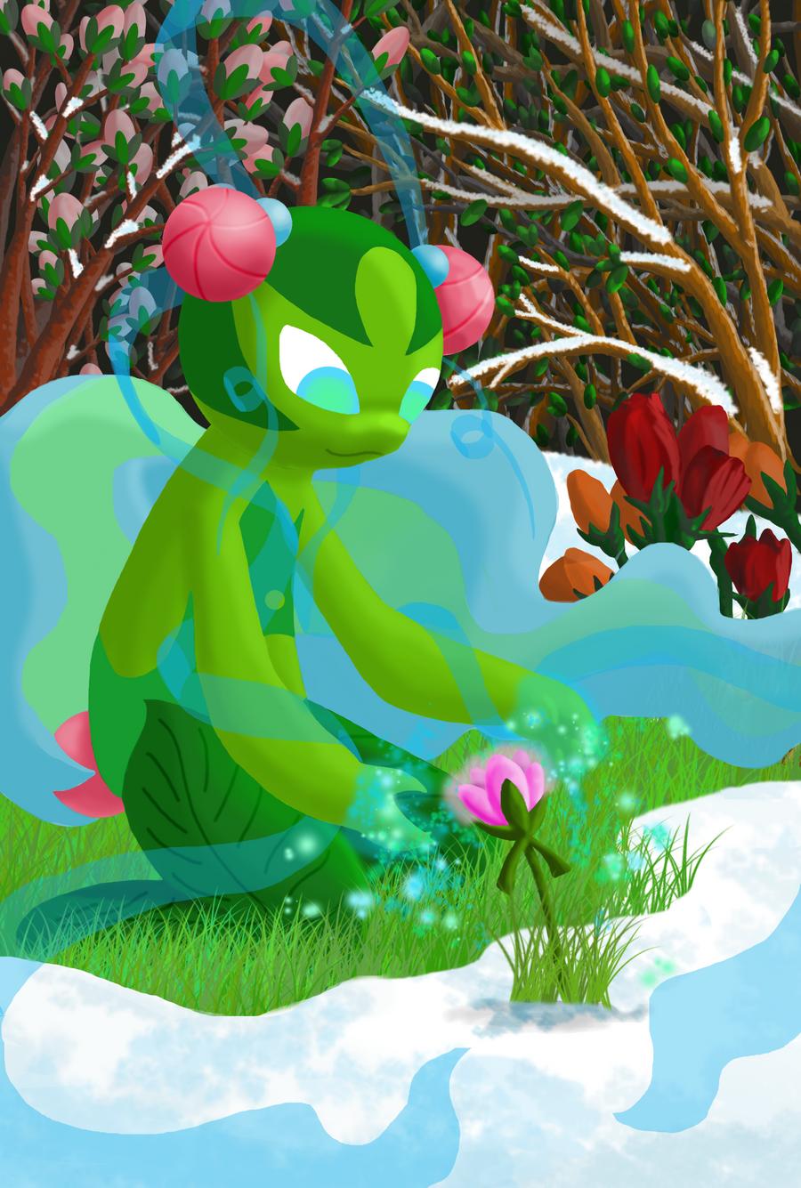 Bedrisa: Preparing to Bloom by Saronicle