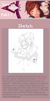 Drawing Tutorial [Part I: Sketch and Lineart]