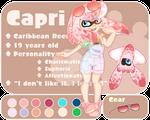 Splatoon OC: Capri
