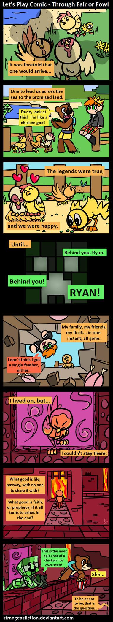 Let's Play Comic: Through Fair or Fowl by StrangeAsFiction