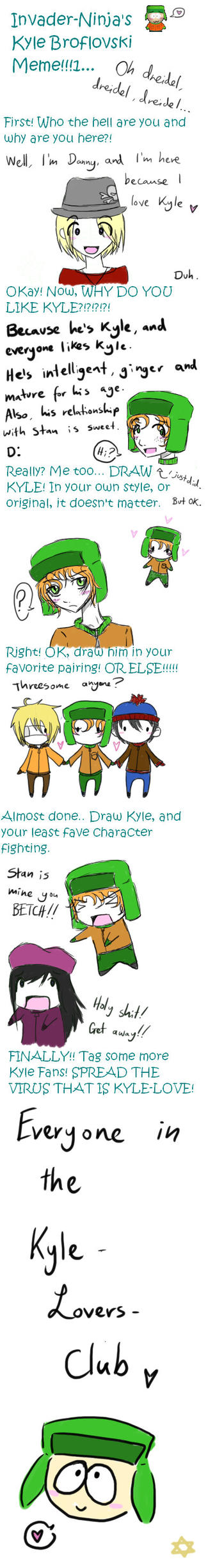 SP: Kyle Broflovski meme by Kyle-Lovers-Club