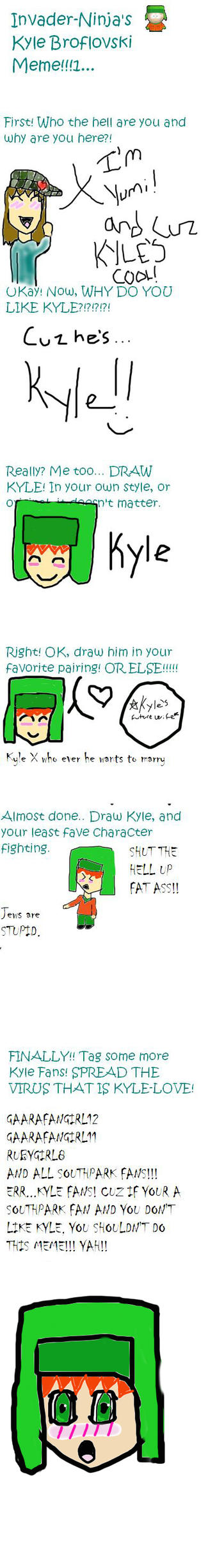 Kyle Meme - DO.NOT.FAVE.HERE by Kyle-Lovers-Club