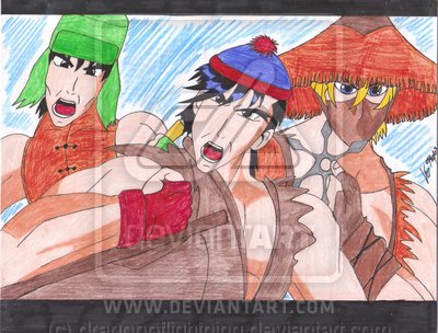 Three Ninjas - DO.NOT.FAVE by Kyle-Lovers-Club