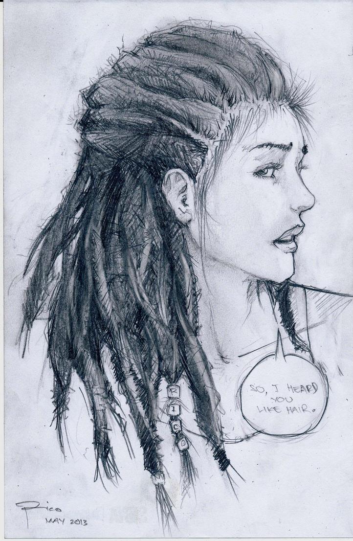 Dreadlocks By Ricomagallona Dreadlocks By Ricomagallona How To Draw