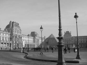 Lampposts of the Louvre