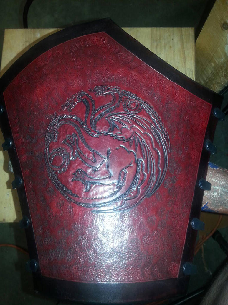 Targaryen arm guard by metal-maniac1977