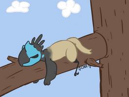 sleepy bby by stichcrazy143