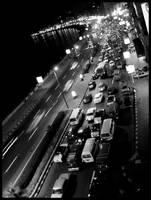 A busy street. by AgnesVita