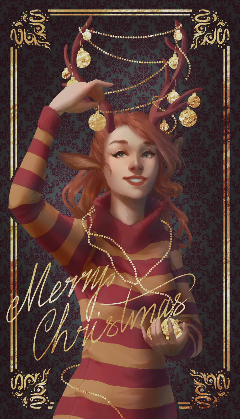 Merry Christmas -contest entry- by Enduine