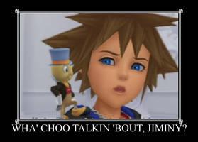 Wha choo talkin bout Jiminy? by Checker-Bee
