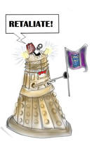 The Rebellious Dalek by Checker-Bee