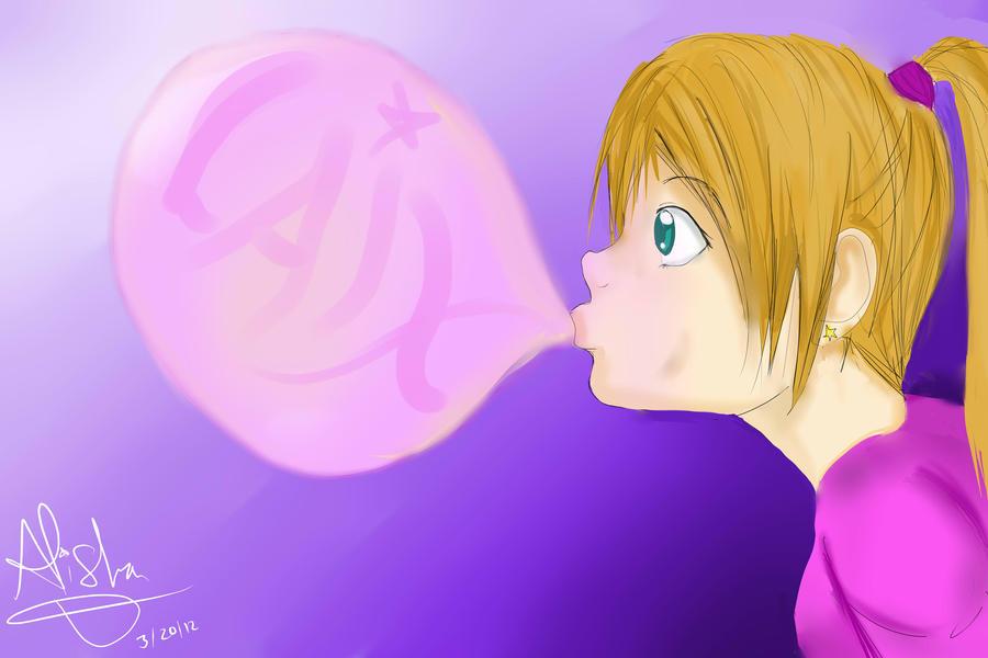 Bubble Gum! by Checker-Bee