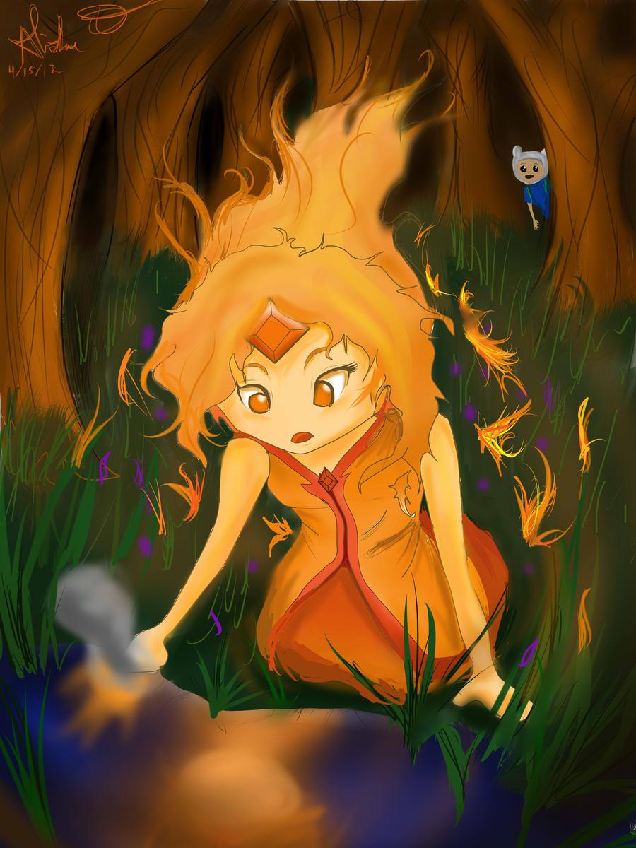 Flame Princess's Secret Admirer by Checker-Bee
