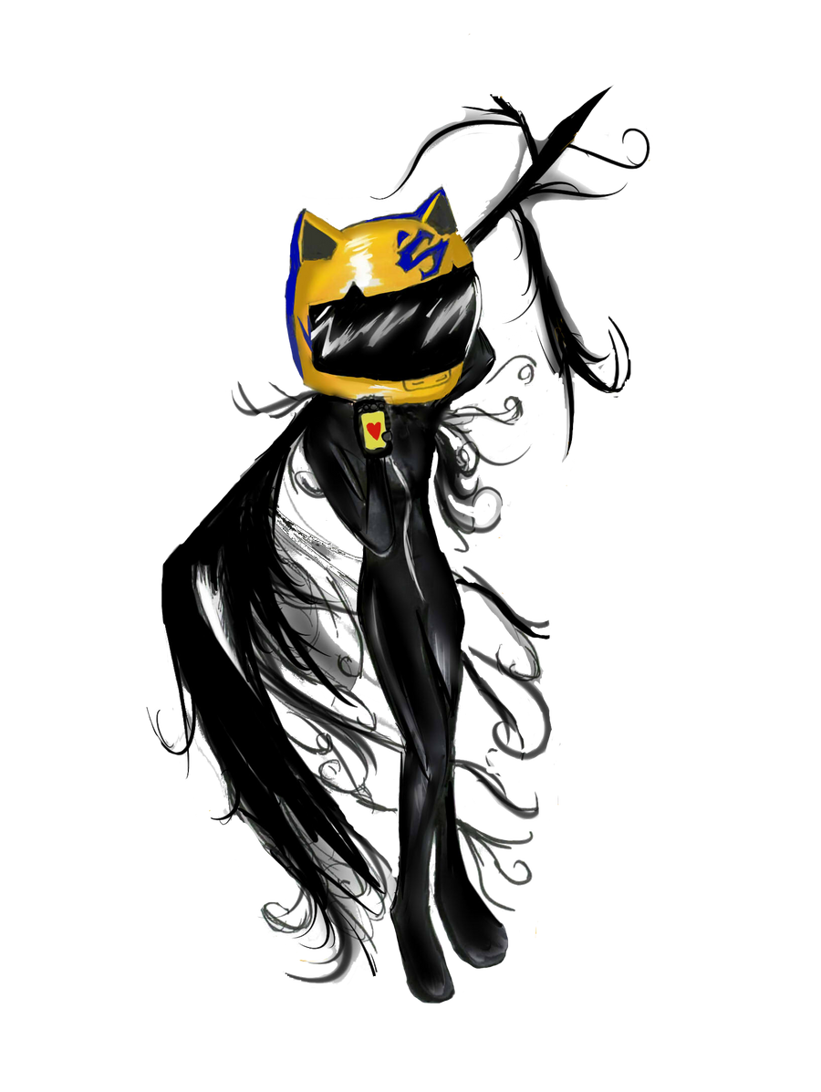 Chibi Celty by Checker-Bee