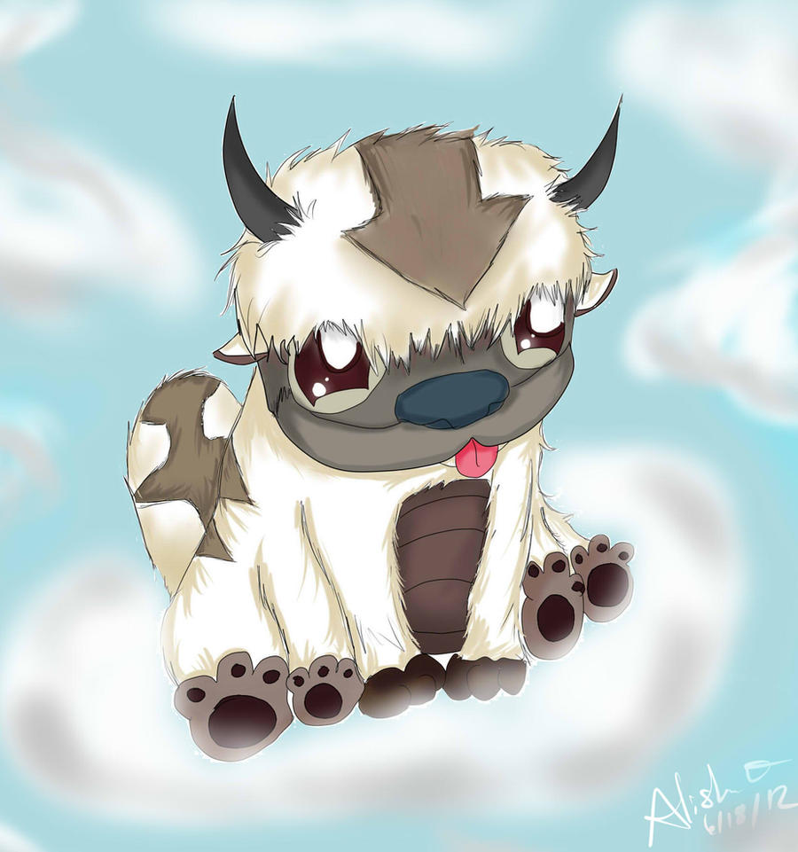 The Last Airbender Movie Appa: Baby Appa By Checker-Bee On DeviantArt