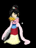 Princess Mulan by Checker-Bee