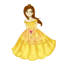 Princess Belle by Checker-Bee