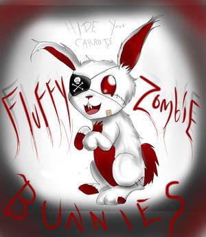 Fluffy Zombie Bunny!!!