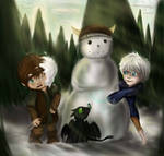 Lil Hiccup's Imaginary Friend