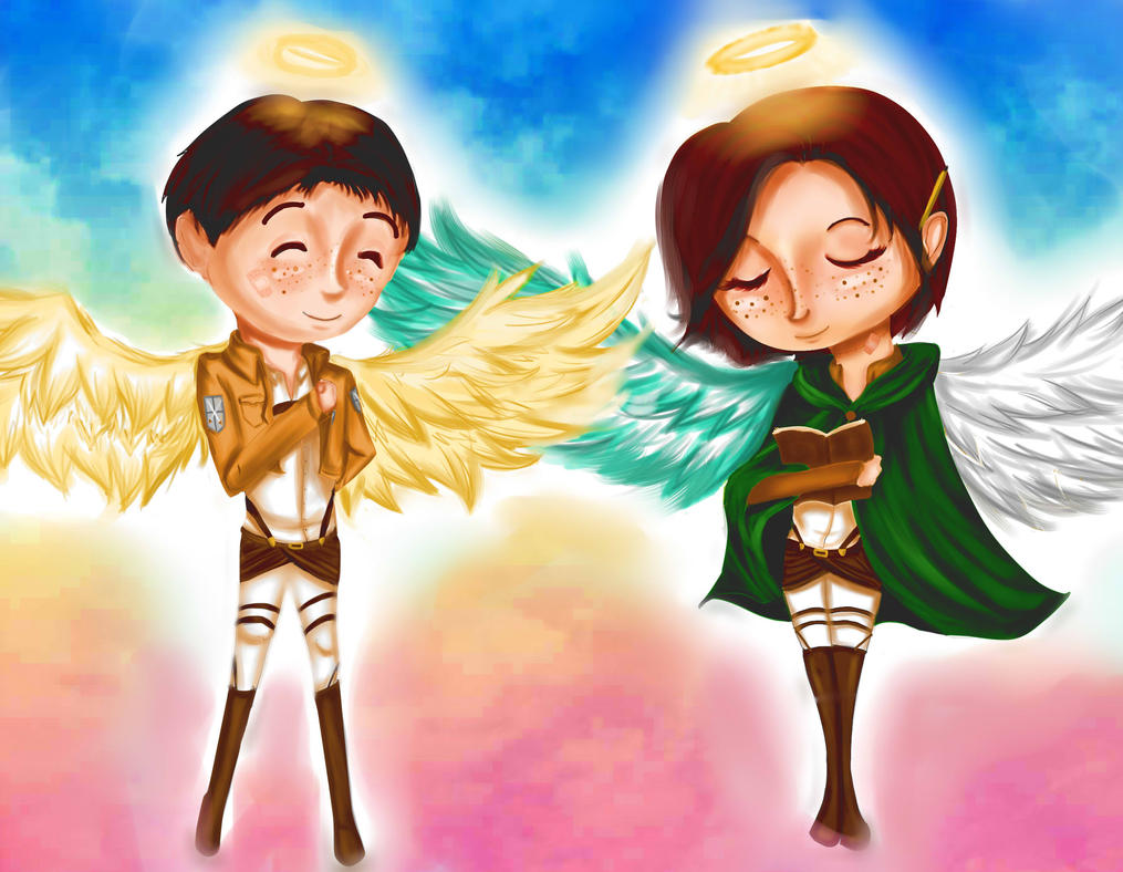Freckled Angels by Checker-Bee