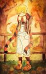 Yukine's Fluffy Fluff Scarf by Checker-Bee