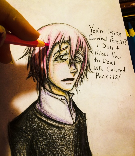 Crona doesn't know how to deal with being drawn by Checker-Bee
