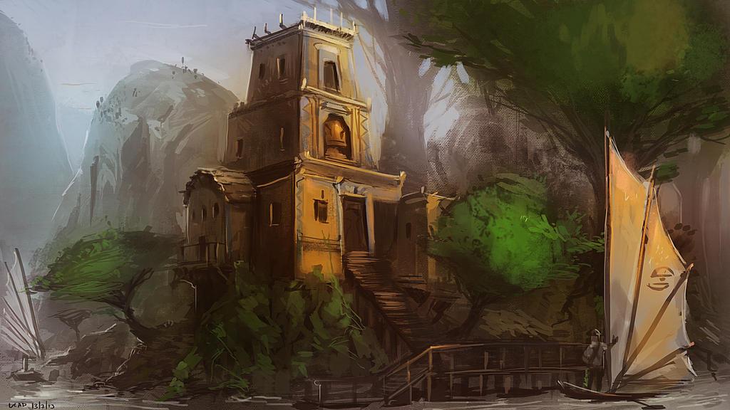 Temple of Lore by saltytowel