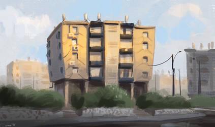 Israeli Apartment House