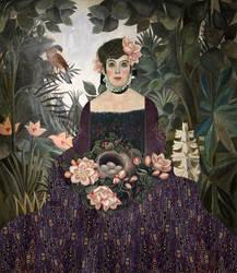 Amalie in Henri's Garden
