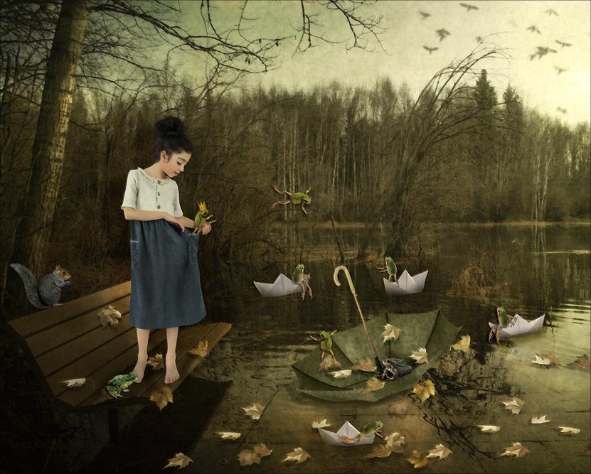 Froggy Autumn Reunion by saperlipop