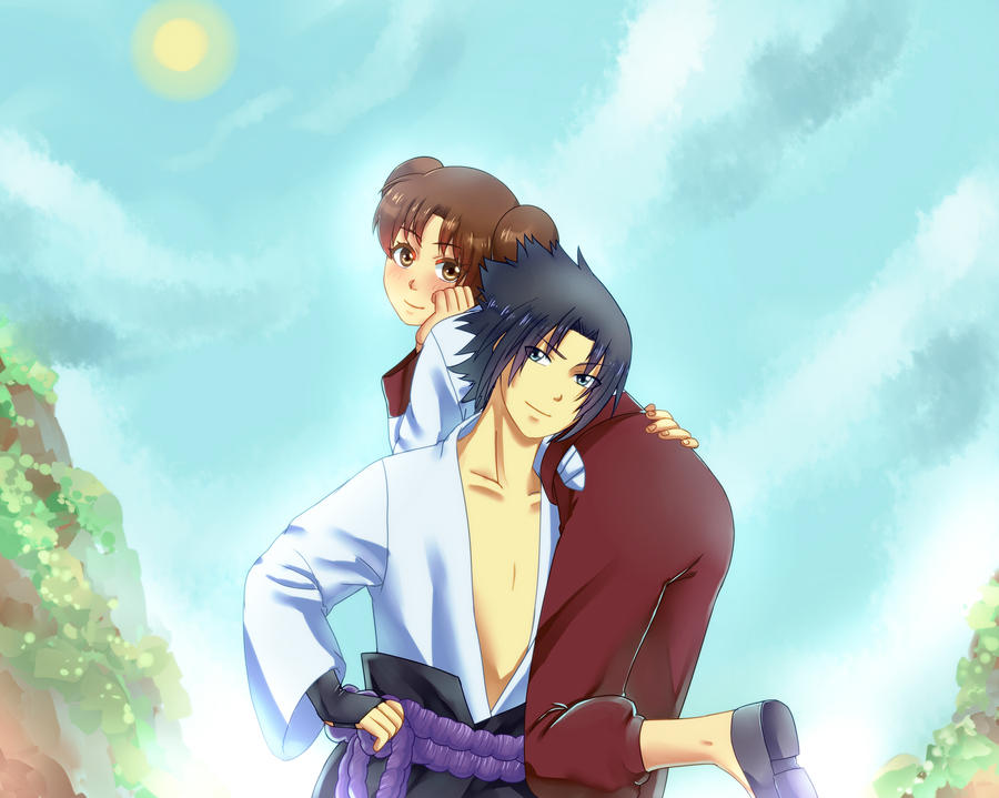 PC Sasuke4Tenten by DaiKai
