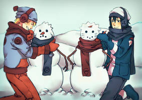 Winter is here by DaiKai