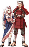 Tsukiyama and butsuma senju