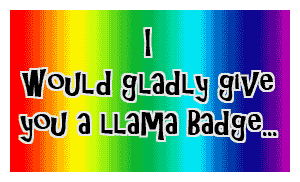 Llamas-for-Points Stamp by LooneyTunerIan