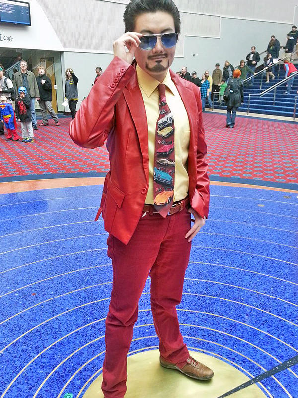 Tony Stark cosplay: Center of the Universe by iRaikiri on DeviantArt Tony Stark Cosplay