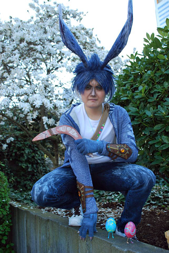 ROTG: Bunnymund by iRaikiri on DeviantArt Easter Bunny Rise Of The Guardians Cosplay