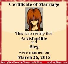 I Married Bleg! by Rose3212