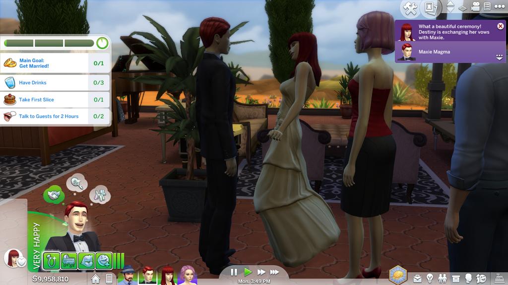 S4-Destiny MagmaxMaxie Magma Wedding Event! by Rose3212