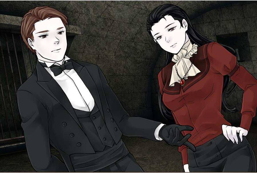 S4V-Human Bela and Destiny Lugosi by Rose3212