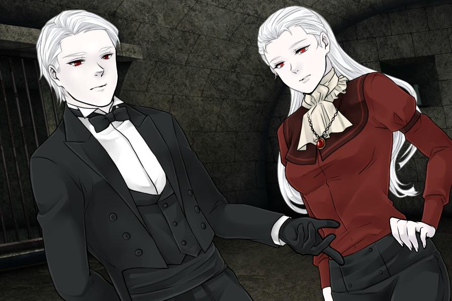 S4V-Bela and Destiny Lugosi's Dark Forms by Rose3212