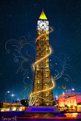 Clock Tower-Tunisia by Aymen-Ouertani