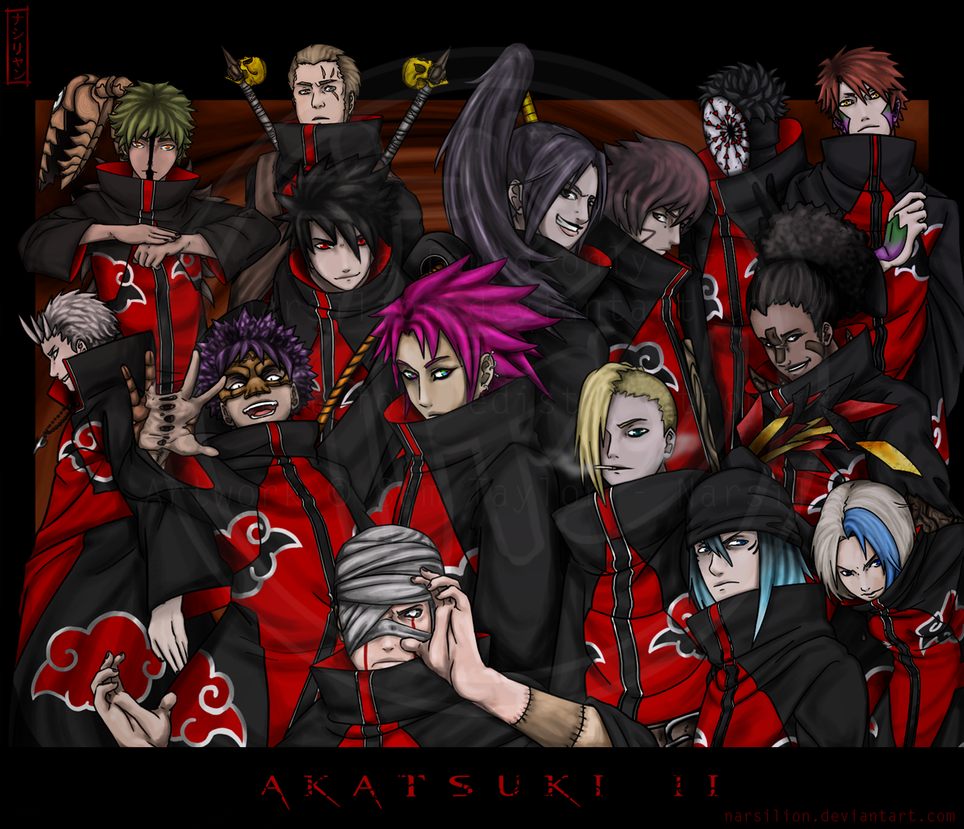 AKATSUKI II DAY By Narsilion On DeviantArt