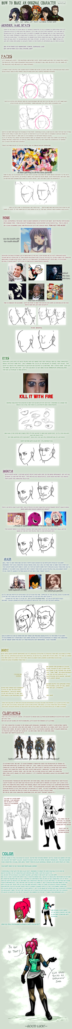 Tutorial For Character Design : Character design tutorial by narsilion on deviantart