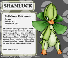 pkmn - Shamluck by Narsilion